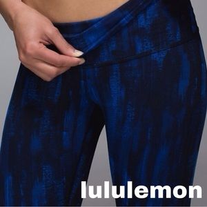 Lululemon Wunder Under *Full-On Luon (Roll Down)